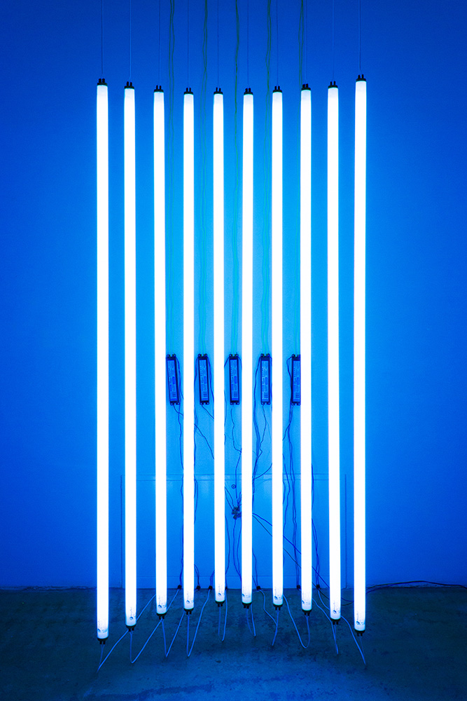 Get Your Ten On - Michael Niemetz - light installation - seen at Gallery Charim Events - 2016
