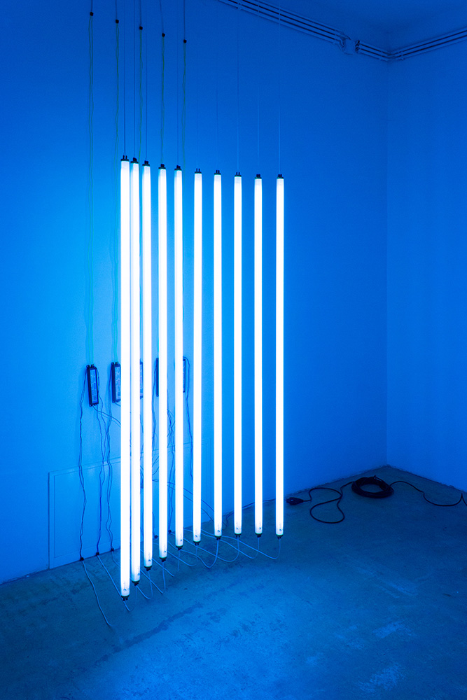 Get Your Ten On - Michael Niemetz - light installation - seen at Gallery Charim Events 2016